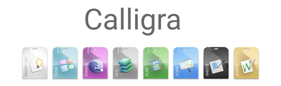 Logotip Calligra Suite