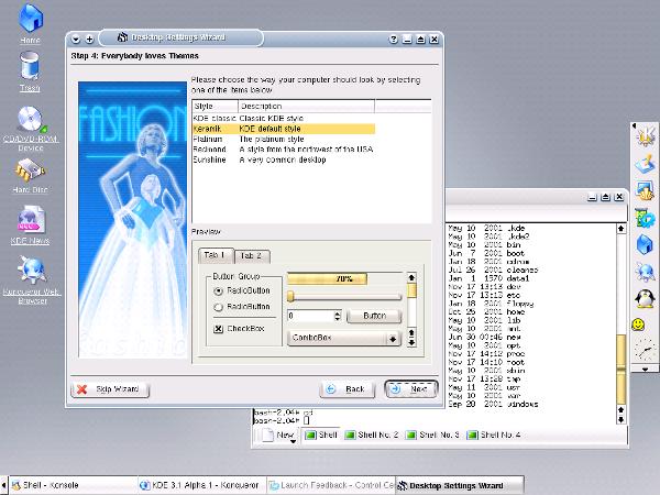 KDE 3.1