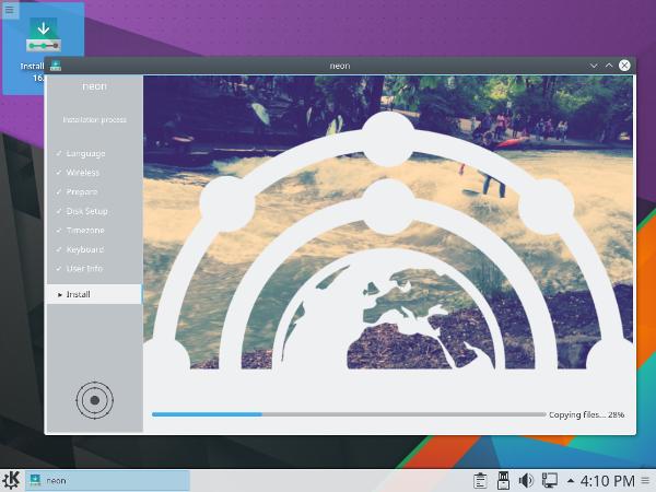 Знімок екрана Neon 5.6