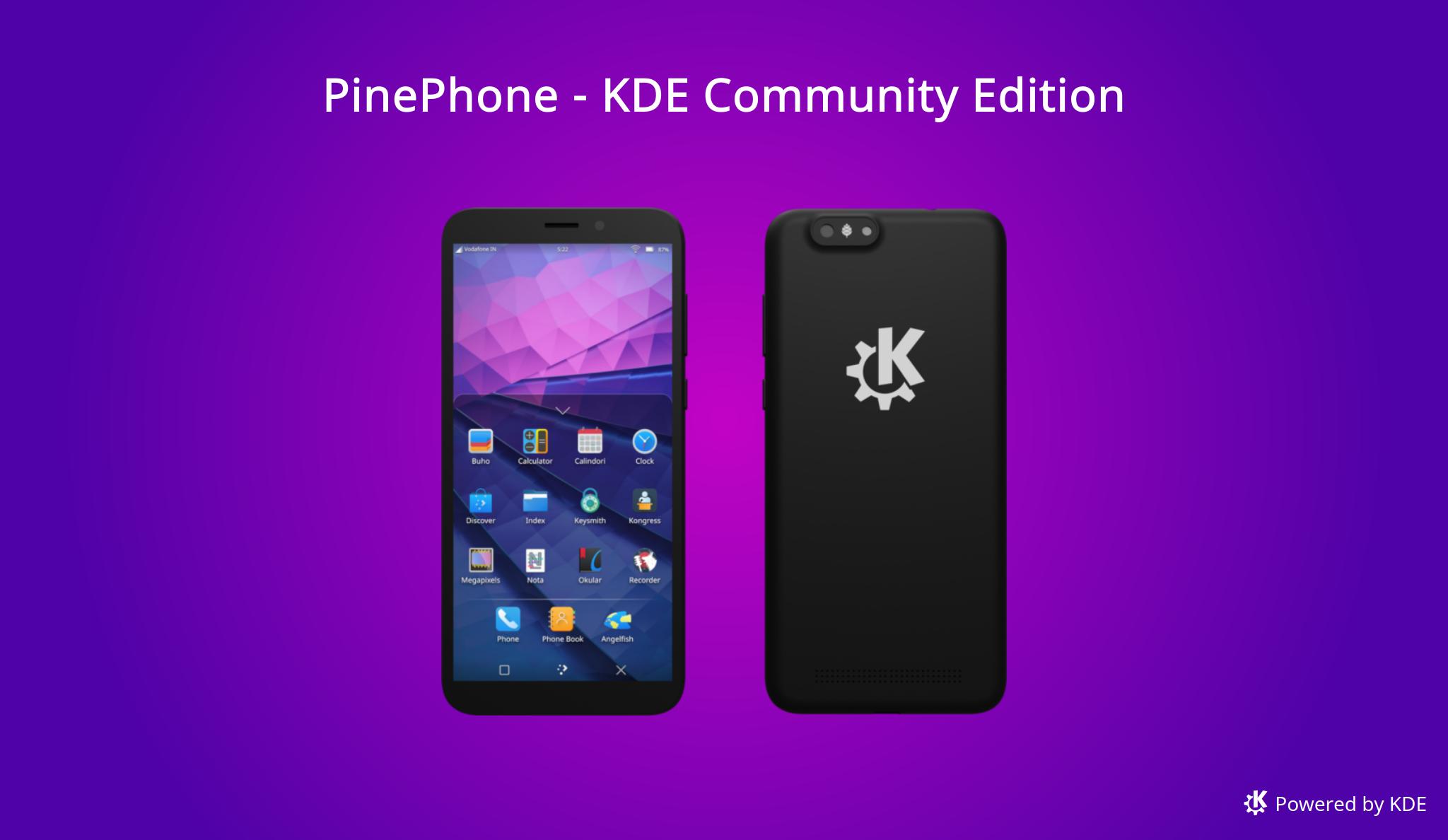PinePhone - KDE Community Edition